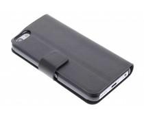 Zwart stijlvolle booktype hoes iPhone 5c