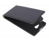 Mobiparts Premium flipcase Sony Xperia M2 (Aqua) - Black