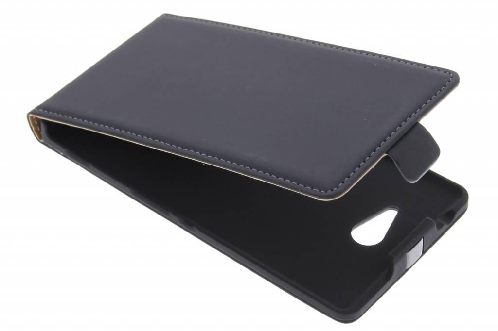 Mobiparts Premium flipcase voor de Sony Xperia M2 (Aqua) - Black