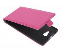 Mobiparts premium flipcase Sony Xperia M2 (Aqua) - Pink
