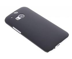 Zwart effen hardcase HTC One M8 / M8s