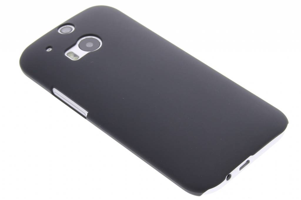 Zwarte effen hardcase voor de HTC One M8 / M8s