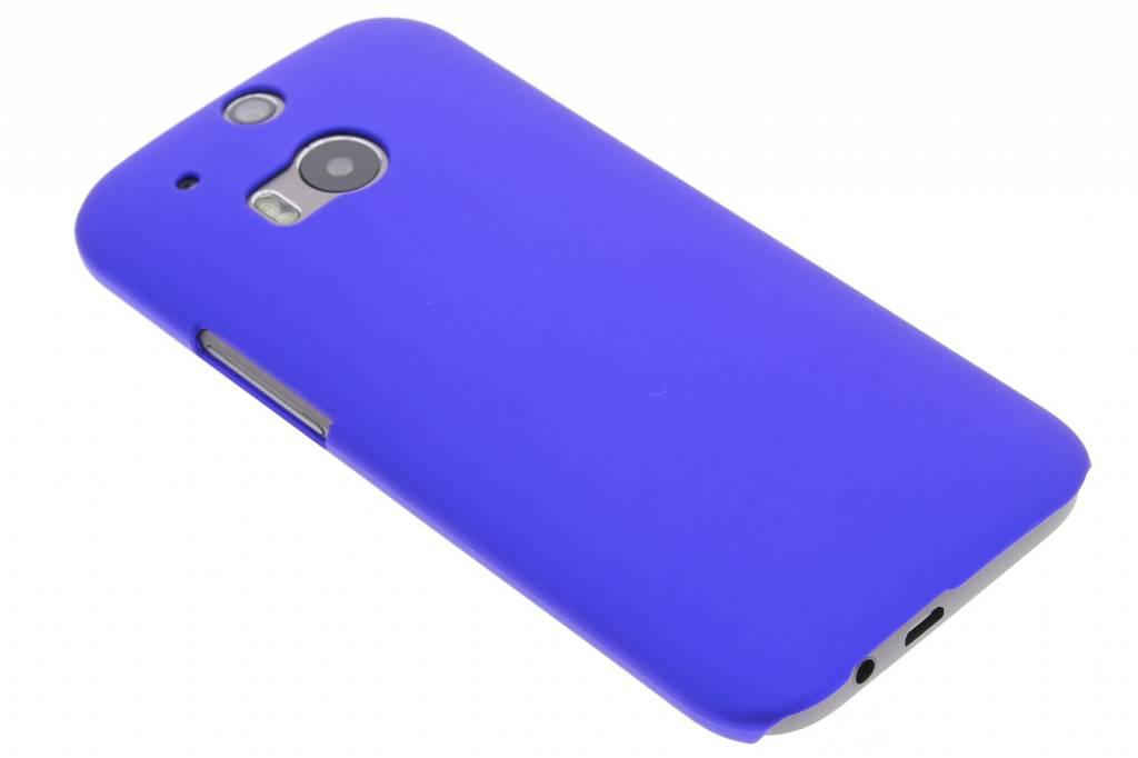 Blauwe effen hardcase voor de HTC One M8 / M8s