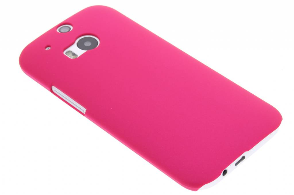 Fuchsia effen hardcase voor de HTC One M8 / M8s