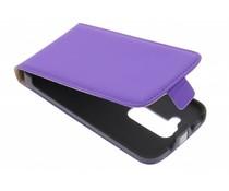 Mobiparts Premium flipcase LG G2 Mini - Purple