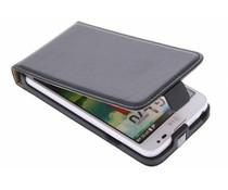 Zwart luxe flipcase LG L70 / L65