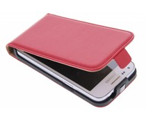 Rood luxe flipcase Samsung Galaxy Core Plus