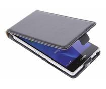 Zwart luxe flipcase Sony Xperia Z2