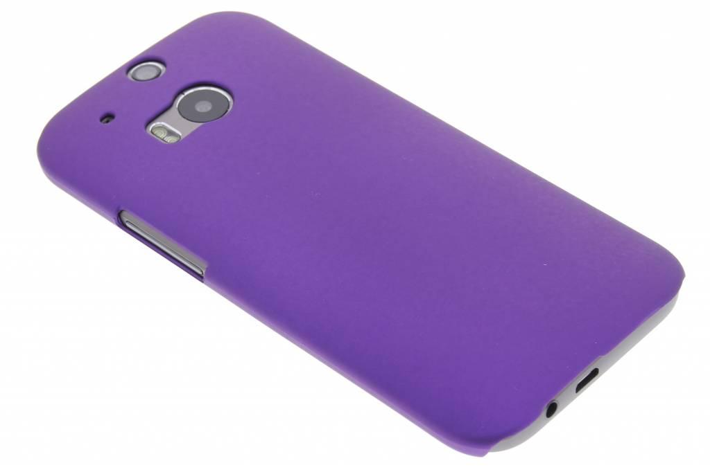 Paarse effen hardcase voor de HTC One M8 / M8s