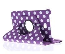 360° draaibare polka dot tablethoes Galaxy Tab 4 7.0