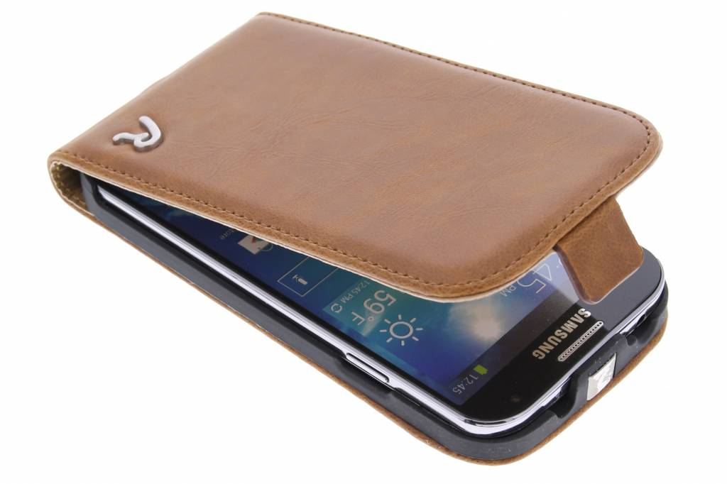 Replay Flip Case Cognac voor de Samsung Galaxy S4