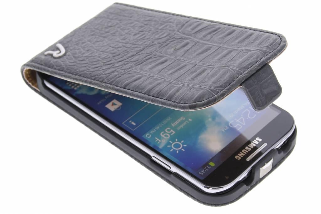 Replay Flip Case Croco Black voor de Samsung Galaxy S4