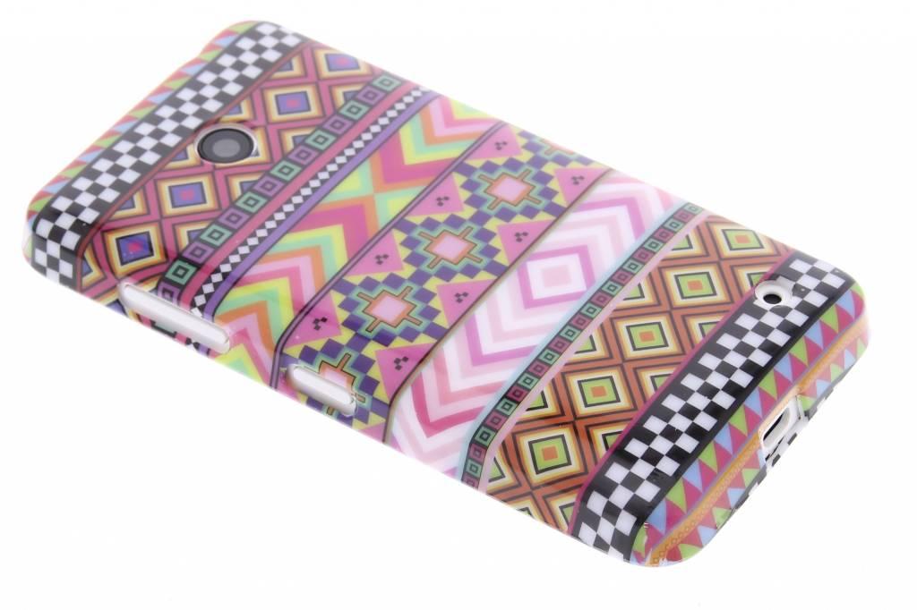 Aztec design TPU siliconen hoesje voor de Nokia Lumia 630 / 635