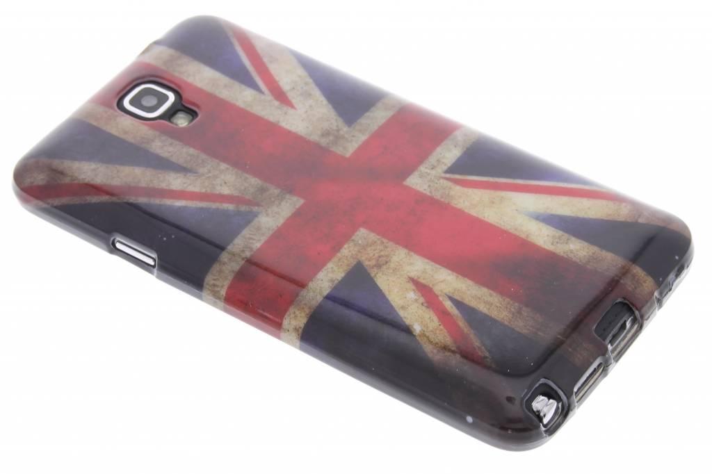 Britse vlag design TPU siliconen hoesje voor de Samsung Galaxy Note 3 Neo