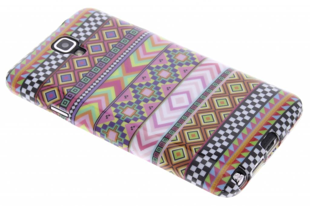 Aztec design TPU siliconen hoesje voor de Samsung Galaxy Note 3 Neo