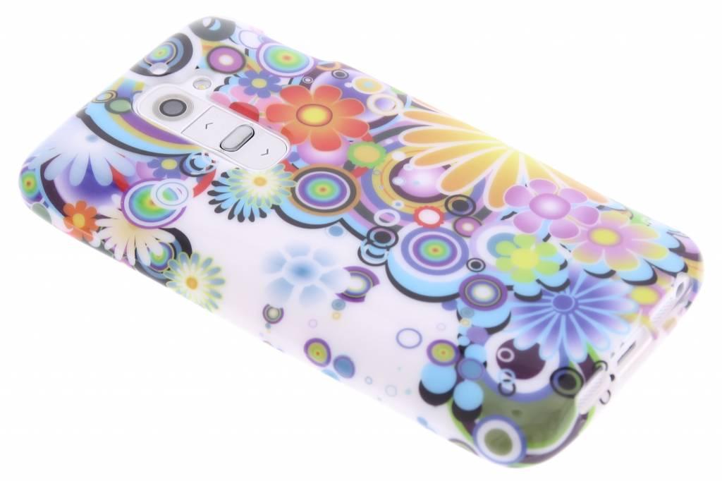 Fantasie design TPU siliconen hoesje voor de LG G2
