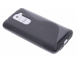 Zwart S-line TPU hoesje LG G2 Mini