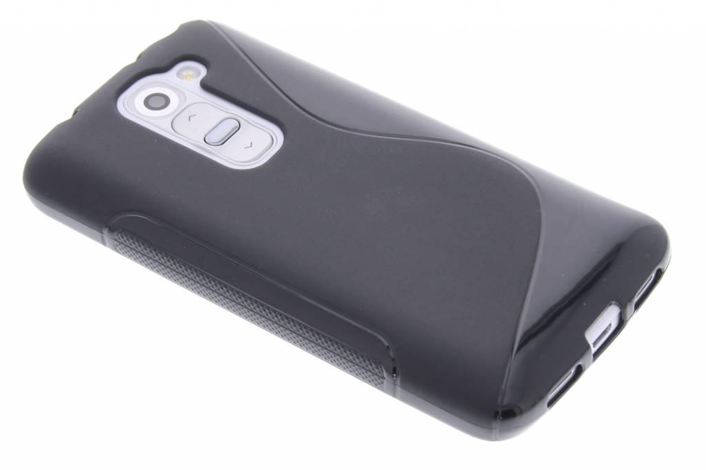 Zwart S-line TPU hoesje voor de LG G2 Mini