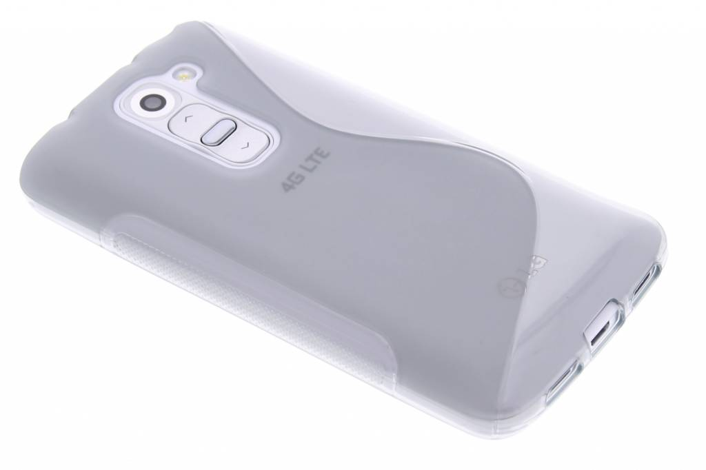 Grijs S-line TPU hoesje voor de LG G2 Mini
