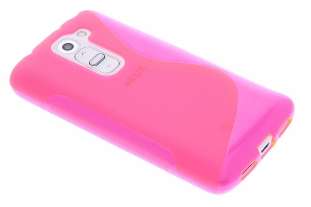 Rosé S-line TPU hoesje voor de LG G2 Mini