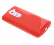 Rood S-line TPU hoesje LG G2 Mini