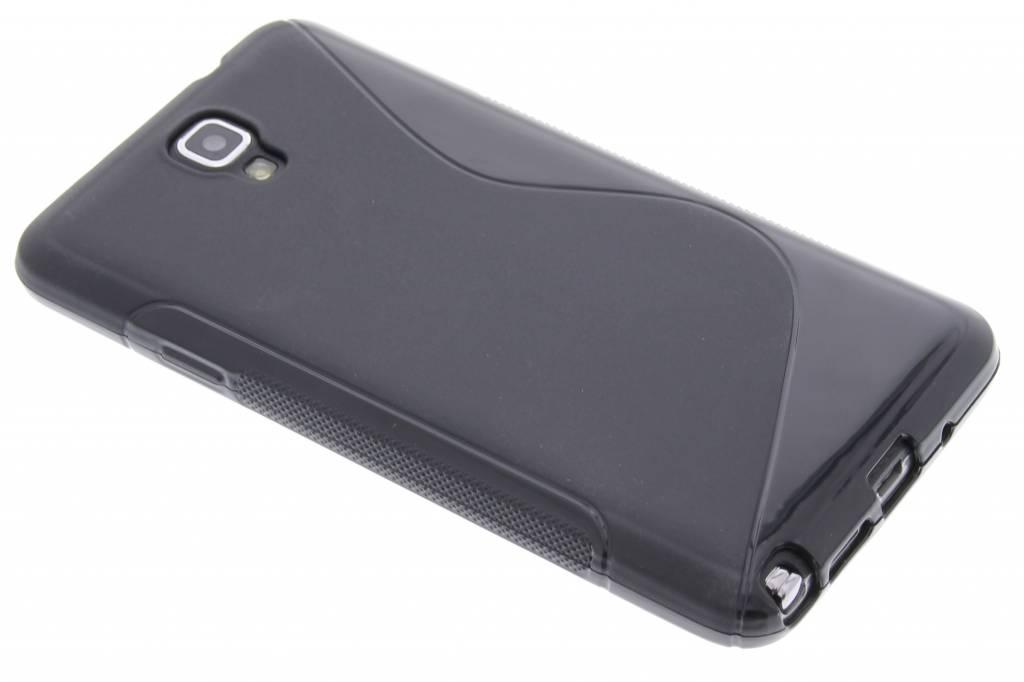 Zwart S-line TPU hoesje voor de Samsung Galaxy Note 3 Neo