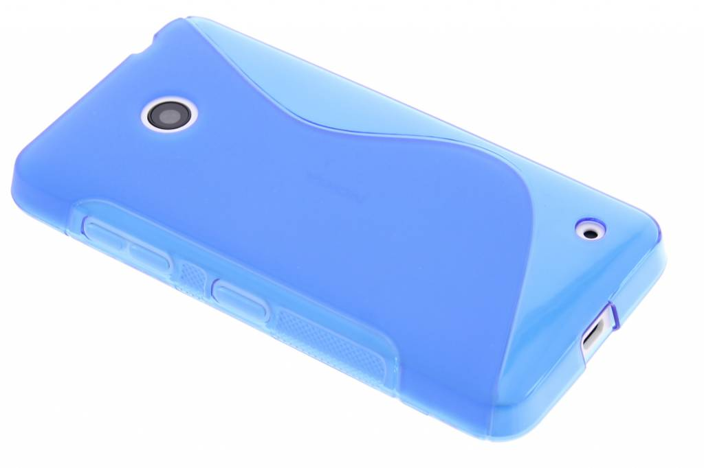 Blauw S-line TPU hoesje voor de Nokia Lumia 630 / 635