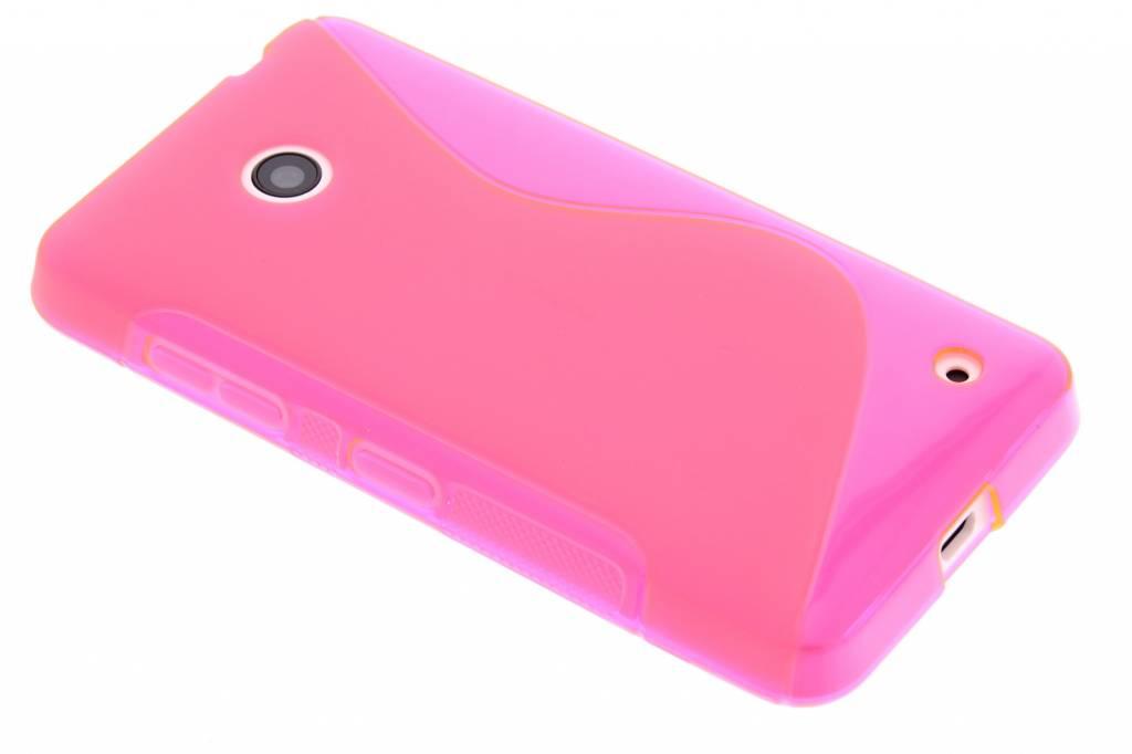 Rosé S-line TPU hoesje voor de Nokia Lumia 630 / 635