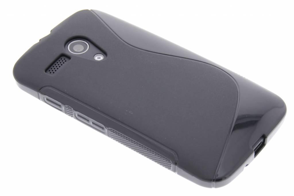 Zwart S-line TPU hoesje voor de Motorola Moto G