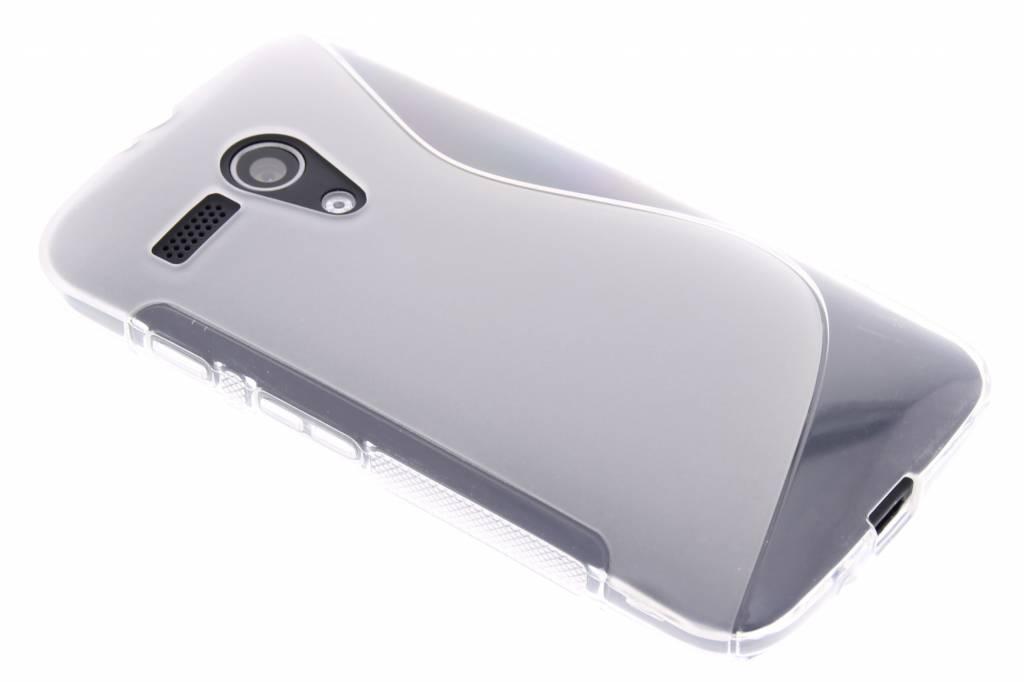 Transparant S-line TPU hoesje voor de Motorola Moto G