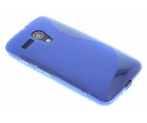 Blauw S-line TPU hoesje Motorola Moto G