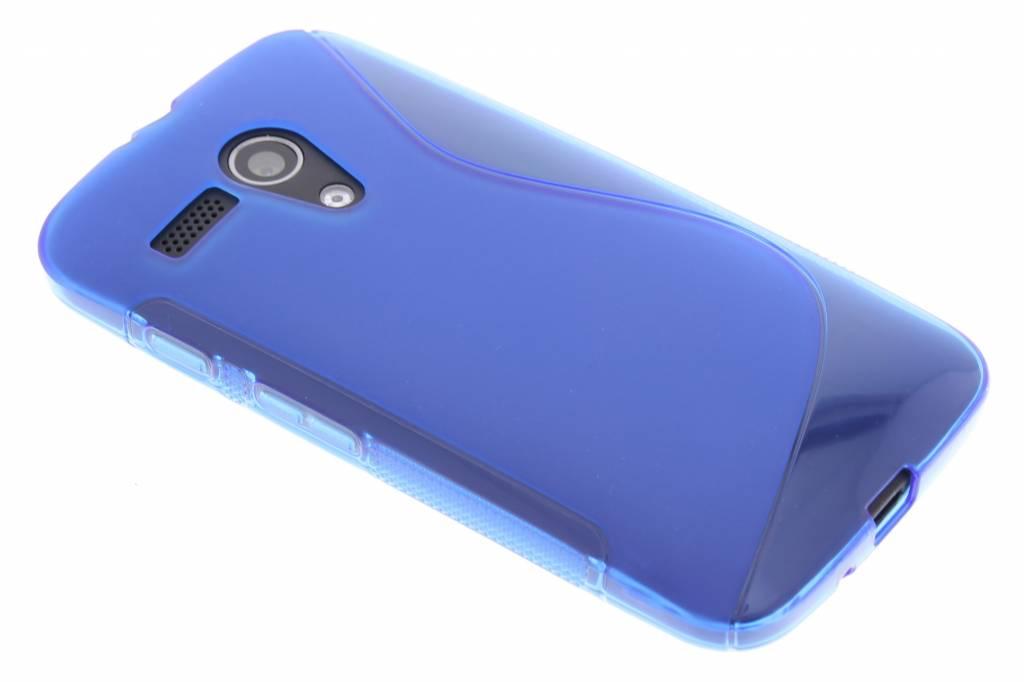 Blauw S-line TPU hoesje voor de Motorola Moto G
