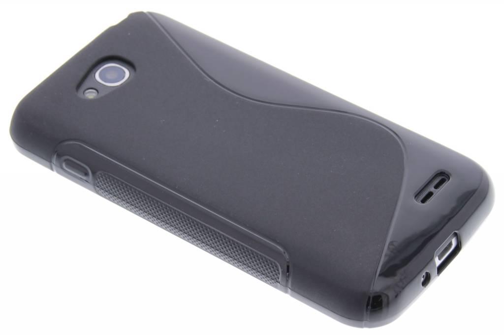 Zwart S-line TPU hoesje voor de LG L90