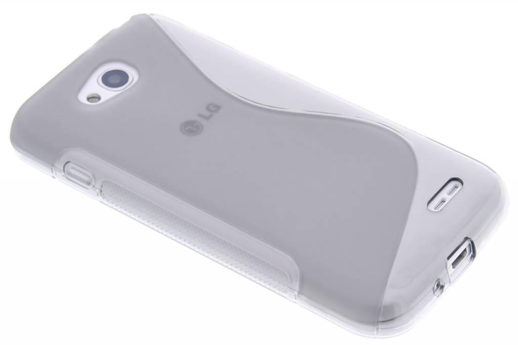 Grijs S-line TPU hoesje voor de LG L90