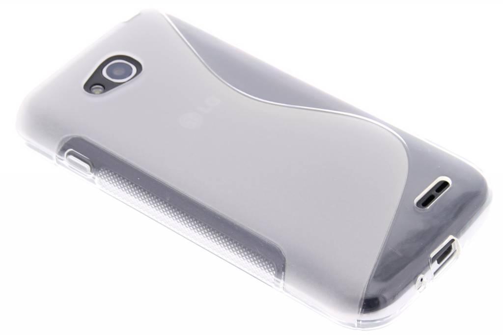 Transparant S-line TPU hoesje voor de LG L90