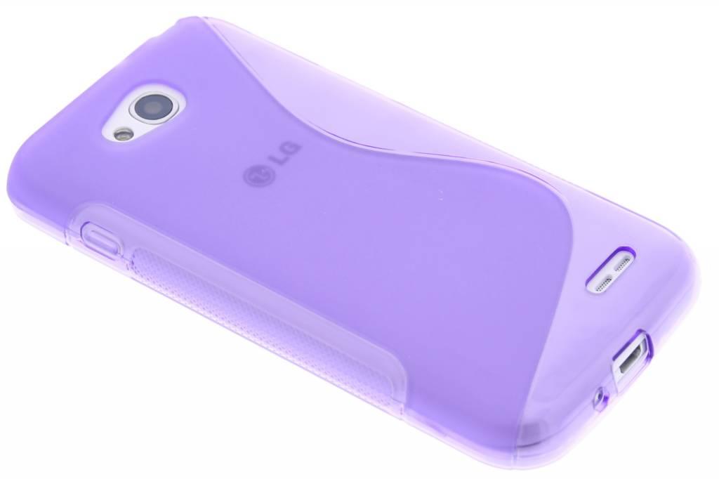Paars S-line TPU hoesje voor de LG L90