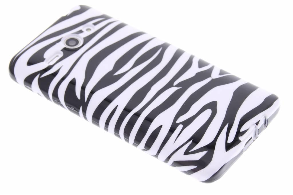 Zebra design TPU siliconen hoesje voor de Huawei Ascend Y530