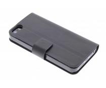 Zwart stijlvolle booktype iPhone 5 / 5s / SE