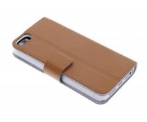 Bruin stijlvolle booktype iPhone 5 / 5s / SE