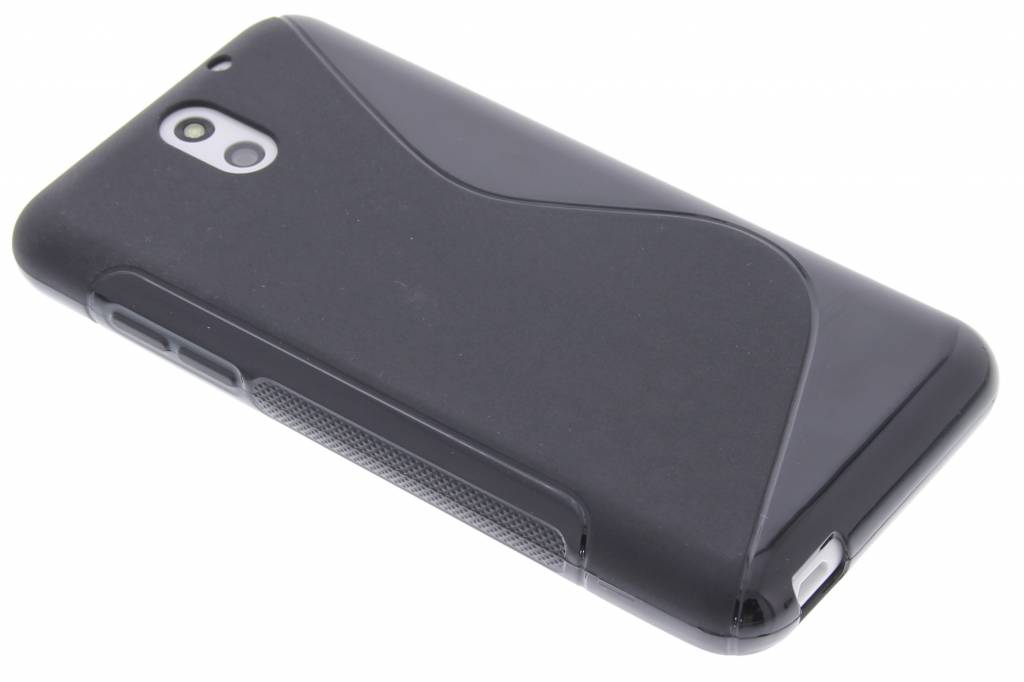 Zwart S-line TPU hoesje voor de HTC Desire 610