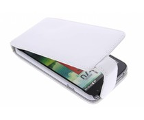 Wit stijlvolle flipcase LG L70