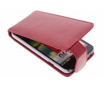 Rood stijlvolle flipcase LG L70