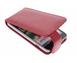 Rood stijlvolle flipcase LG L90