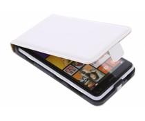 Wit luxe flipcase Nokia Lumia 625