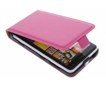 Fuchsia luxe flipcase Nokia Lumia 625