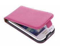Fuchsia luxe flipcase Samsung Galaxy Ace 3