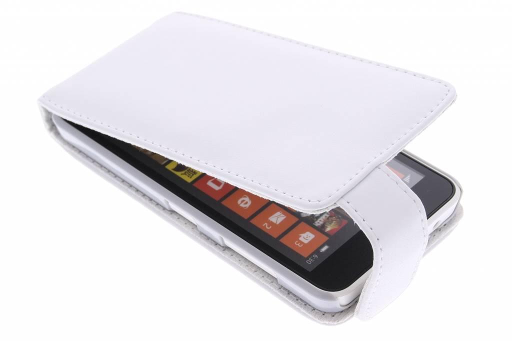 Witte stijlvolle flipcase voor de Nokia Lumia 630 / 635