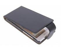 Zwart classic flipcase Huawei Ascend G6
