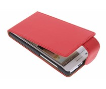Rood classic flipcase Huawei Ascend G6