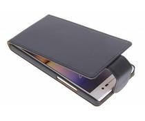 Zwart classic flipcase Huawei Ascend P7